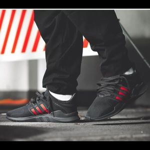 check out 3d90e db362 ... finest selection 80d01 964bd adidas Shoes - ADIDAS EQT SUPPORT ADV BLK  RED GRN GUCCI BB6777 ...